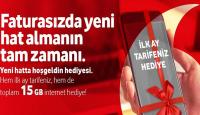 Vodafone Yeni Abonelerine Hoşgeldin Kampanyası
