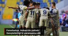 Fenerbahçe, Deplasmanda Gençlerbirliği'ni 5-1 Mağlup Etti