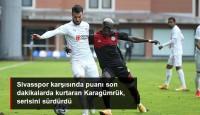 Fatih Karagümrük ile Sivasspor 1-1 Berabere Kaldı