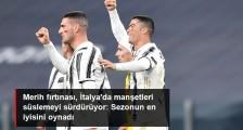 Merih Demiral'ın Cagliari Maçı Performansı, İtalya'da Manşetlere Çıktı