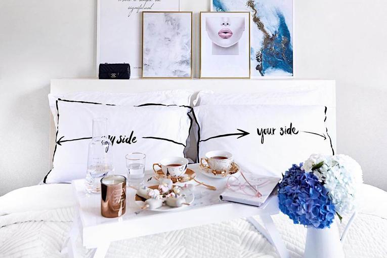 Şık yatak odası